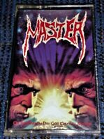Master - On The Seventh Day God Created...Master. Cassette Tape VG Thrash/Death
