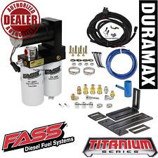 FASS 165GPH Diesel Fuel Lift Pump System 2015-2016 Chevy GMC 6.6L Duramax LML