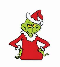 Grinch that Stole Christmas Sticker Decal Dr. Seuss Outdoor Durable 12t x 10w