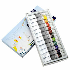 Korean Memory 12 Colors Professional Artists Stained Glass Paint Set