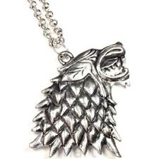COLLANA Metalupo Game Of Thrones Jon Snow  TRONO DI SPADE STARK METALUPO