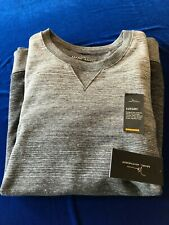 NEW MENS Dark Grey Marc Anthony Luxury Slim Fit Pullover Sweatshirt SZ XXL NWT