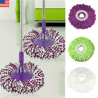 US Replacement Easy Cleaning Mopping Head Wring Spin Refill Mop for New
