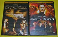 Drama DVD Lot - The Da Vinci Code (New) Angels & Demons (New) Tom Hanks