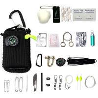 29en1 SOS Herramienta Caja de Supervivencia Emergencia Kit Survival Tool Camping