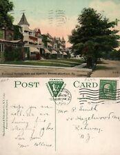 ALLENTOWN PA 15th & HAMILTON STREET RESIDENCE SECTION 1912 ANTIQUE POSTCARD