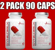 2X METABOLIC NUTRITION SYNEDREX 45 CAPS energy Fastest weight loss thermogenic