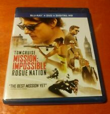 Mission: Impossible Rogue Nation Blu-ray DVD Tom Cruise , Jeremy Renner