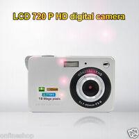18 Mega Pixels 3.0MP CMOS sensor 2.7 inch TFT LCD Screen HD 720P Digital Camera