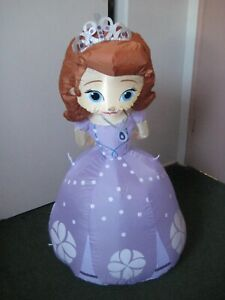 Disney Princess Sofia The First Lighted Airblown Inflatable BRAND NEW 3.5' Tall