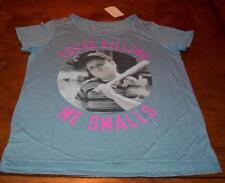 """Women's TEEN THE SANDLOT YOUR KILLING ME SMALLS Hamilton """"HAM"""" T-shirt LARGE NEW"""