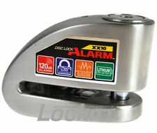 Xena XX-10S Stainless Alarmed Brake Disc Lock Motorcycle Scooter