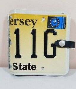 Little Earth Recycled New Jersey License Plate Photo Album