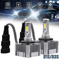 2Pcs D1S D3S LED Headlight Lamp 110W 26000LM 6000K Auto DRL Fog Bulb Error Free