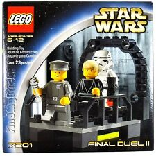 NEW LEGO 7201 Star Wars FINAL DUEL II - 2002 RARE MISB Brand NEW Sealed Box NEW