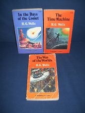 H. G Wells Used Paperback Lot Time Machine War of the Worlds