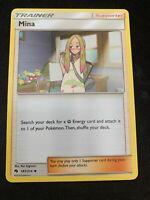 Pokemon 4x Mina 183/214 Uncommon Lost Thunder Near Mint