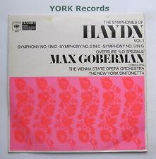 61070 - HAYDN - Symphonies No 1 2 & 3 GOBERMAN Vienna State Opera - Ex LP Record