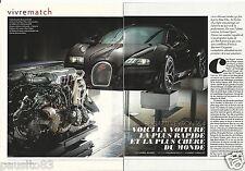 Coupure de presse Clipping 2013 Bugati Veyron 16.4 (4 pages)