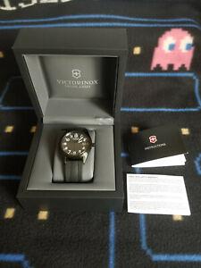 Victorinox Swiss Army Men's Quartz Watch Inox 241563 Black
