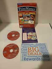 PC & Mac Compatible PrintMaster Gold 2.0 2009 Software