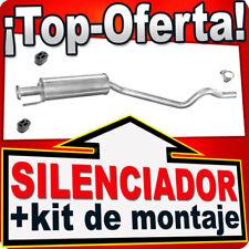 Silenciador Intermedio OPEL ASTRA F 1.7  1.4 1.6 1.8 2.0 91-00 Centro Escape KKN