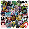 50 PCS GAME Vinyl Laptop Skateboard Stickers Bomb Luggage Decals Dope Sticker