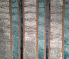 DESIGNERS GUILD Piomba Velvet stripe Belgium viscose poly new remnant