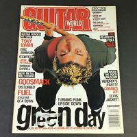 Guitar One Magazine December 2000 - Green Day's Billie Armstrong & Distrubed