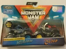 2019 SPIN MASTER MONSTER JAM 1/64 MEGALODON & PIRATES CURSE
