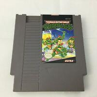 Vintage NES Teenage Mutant Ninja Turtles TMNT Nintendo Working Video Games