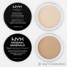 Nyx Minéraux Mate Final Poudre Mfp01 Lumière / M