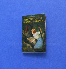 Miniature Dollhouse Book Nancy Drew The Leaning Chimney 1:12 Scale New