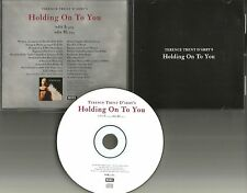 TERENCE TRENT D'ARBY Holding on to you EDITS PROMO DJ CD single w/PRINTED LYRICS