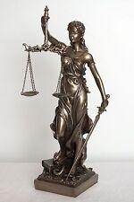 justitia,bronziert,31x11x11cm,figur,,statue,anwalt,polyresin,justicia