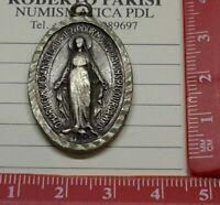 MEDAGLIA VOTIVA RELIGIOSA  B.M.V. SANTA MARIA