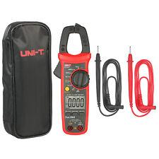 Uni T Ut203 Digital Clamp Meter True Rms Multimeter Ac Dc Ohm Cap Ncv Tester