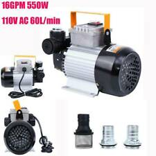 60L/Min Electric Oil Diesel Fuel Transfer Pump Self Priming Commercial Auto 110V