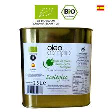 BIO Olivenöl, Dose 2,5L ORGANIC NATIVES EXTRA aus Spanien