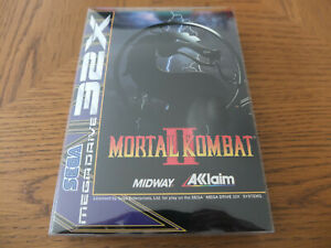 MORTAL KOMBAT II 2 Sega Mega Drive 32X im Orginalkarton + Anleitung TRAUMZUSTAND