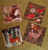 Tattered Lace x4 Schweetheart Recortes tarjeta Topper Scrapbooking Navidad