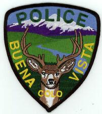 BUENA VISTA POLICE COLORADO CO NICE COLORFUL PATCH SHERIFF