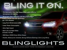 BlingLights LED DRL Head Light Strips Daytime Running Lamps for Subaru Forester