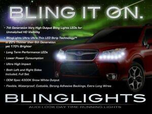 BlingLights LED DRL Head Light Strips Daytime Running Lamps for Subaru Forester