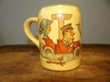 Scarce c1910 Stoneware Lager Beer Saloon Mug Acceleration Inn Pre Prohibition