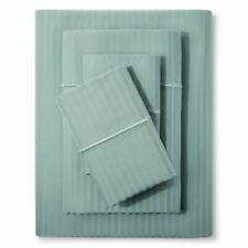 Fieldcrest Damask 500 Thread Count Sheet Set, Full - Smoke Green