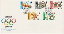 Unaddressed Jersey FDC First Day Cover 1994 Sports Olympic Committee Set