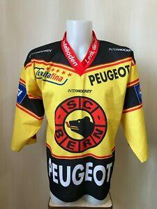 SC Bern Size S Ice Hockey Swiss Switzerland jersey shirt maillot trikot yvette