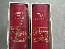 1966 Don Quijote de La Mancha, Cervantes, ilustrado por Segrelles, 2 tomos