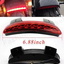 Fender Edge LED Brake Tail Light For Harley Sportster 883 1200 Bobber Cafe Racer